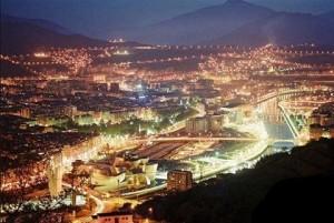 Bilbao, iluminada y preciosa