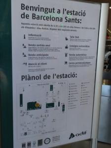Plazas con descuentos en los trenes entre Barcelona y Alicante para navidad