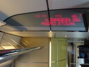 Viaja en Ave a Zaragoza, Huesca, Teruel, Calatayud y/o Tardienta
