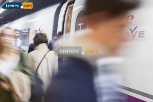 Normalidad en las primeras horas de la huelga de trenes
