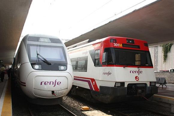 Refuerzo de plazas en los trenes de Extremadura