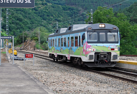 Seguimos con los Trenes Turísticos de Galicia