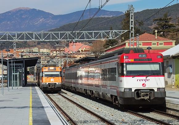 Inversiones para mejorar la accesibilidad de trenes Rodalies