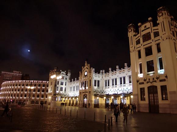 La estación de trenes Valencia Norte cumple 100 años