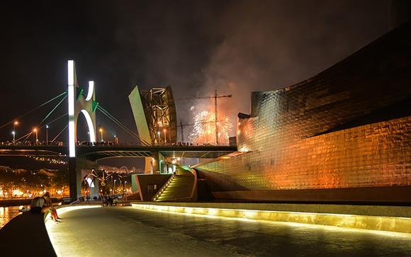 Octubre 2017: en tren a Bilbao por el 20 aniversario del Guggenheim