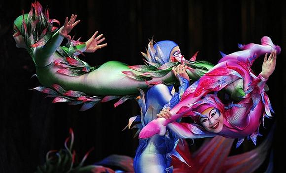 Trenes baratos para disfrutar del Cirque du Soleil en 2018 y 2019