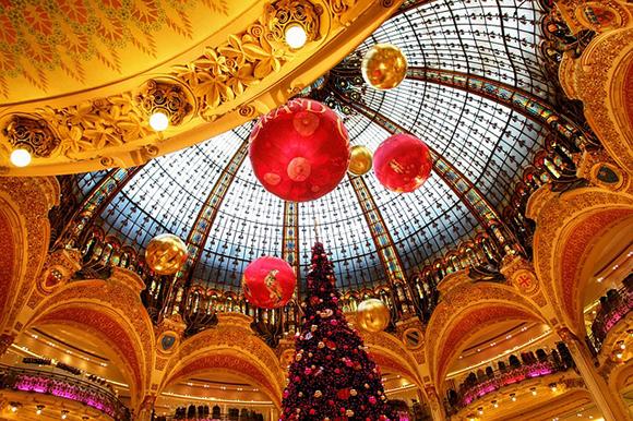 Navidades 2017 en París viajando en trenes AVE
