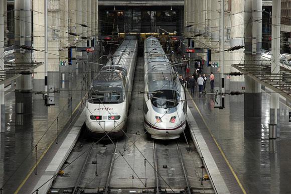 Febrero 2018: 10 años de los trenes AVE Madrid-Segovia-Valladolid