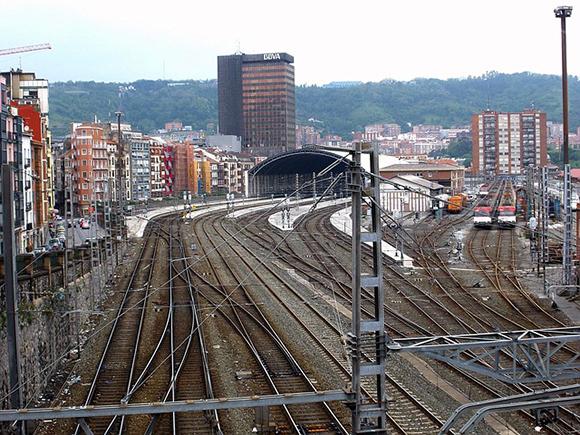 Se prevé que la nueva estación de tren de Bilbao funcione en 2023