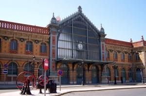 Estación de tren en Almería