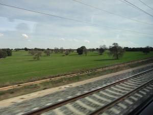 Viaja a Huelva en un tren barato ¡te parecerá que vas a Marte!