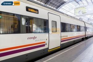 Aumentan los pasajeros de los trenes en Extremadura