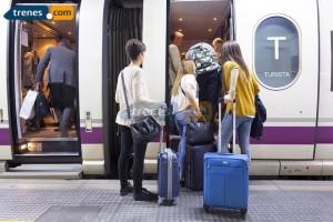 Plazas extra para viajar en Ave con origen y destino Alicante para el puente
