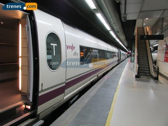 Más de un millón de viajes en los trenes Ave silenciosos