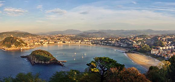Disfruta de un viaje en tren de fin de semana a San Sebastián