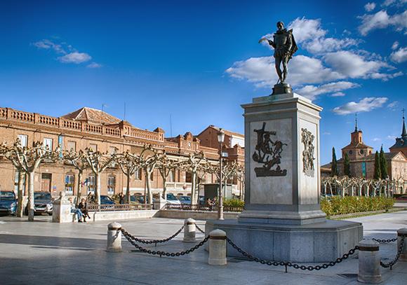 Disfruta del Tren de Cervantes viajando en AVE a Madrid