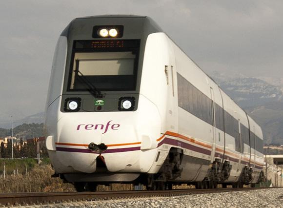 Prometen reducir el tiempo de los viajes en tren desde Almería