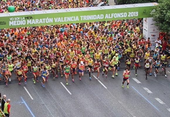 Descuentos en tren para viajar a la Maratón de Valencia