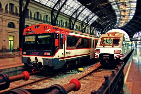 Obras de mejora en el trazado que recorren los trenes Barcelona Zaragoza hasta el mes de septiembre 2017