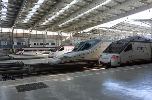 En enero de 2018 crecieron los viajeros de trenes AVE