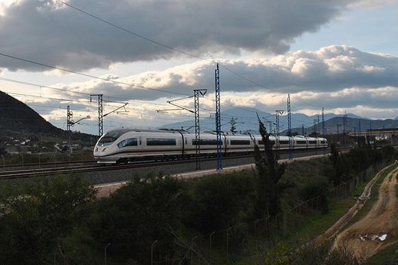 La puesta en servicio de la estación de trenes de Huelva en abril 2018