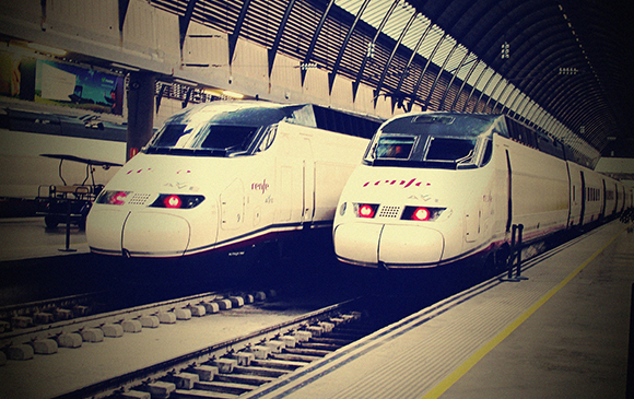 Los viajeros de trenes AVE aumentaron en julio y agosto 2018