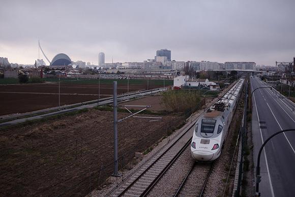 El trazado del AVE Valencia Castellón en 2021