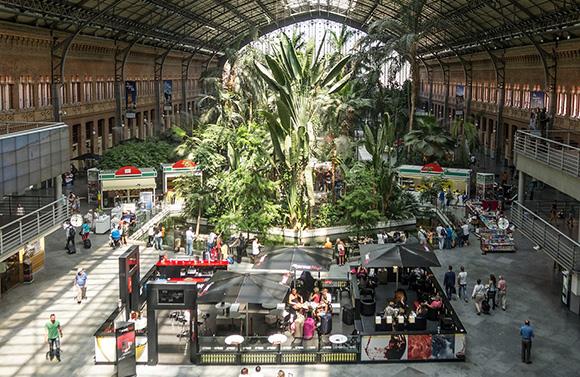 El Belén de la estaciones de trenes AVE de Atocha 2018