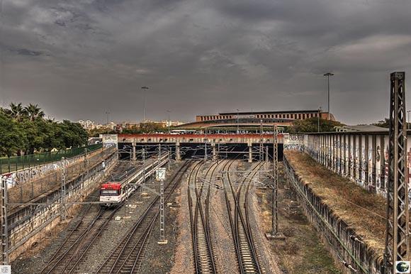 Protección medioambiental en la estación de AVE de Sevilla