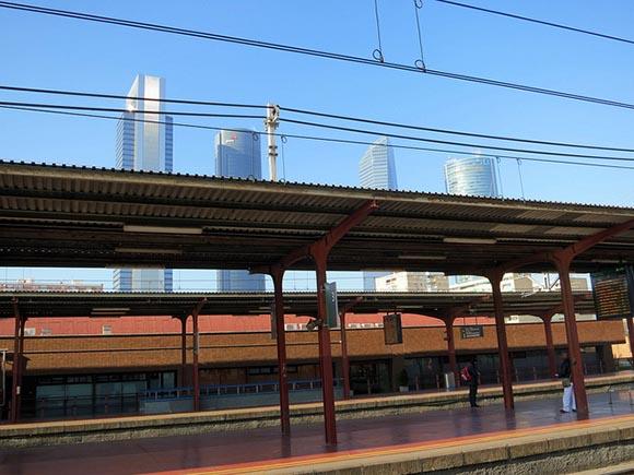 Mejoras en la estación de trenes de Chamartín 2019