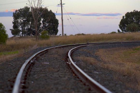 Obras en la línea de trenes Albacete Murcia marzo 2019