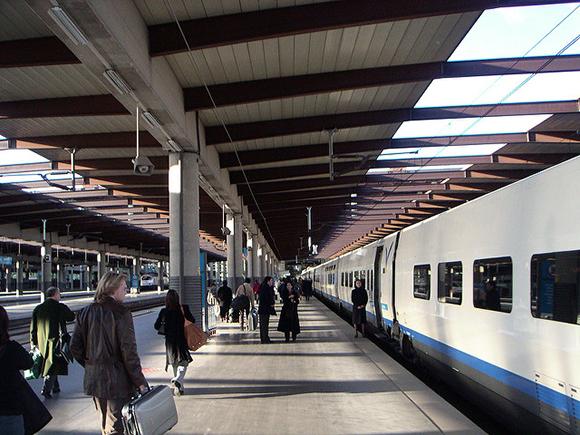 Nueva campaña 2019 en la estación de trenes AVE de Alicante