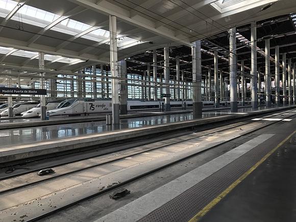 Satisfacción entre los usuarios de trenes AVE hasta abril 2019