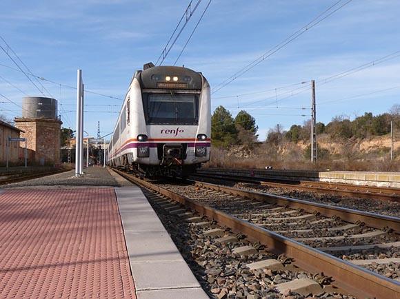 Más inversiones para los trenes Sagunto Teruel junio 2019