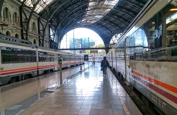 Mejoras en la línea de trenes Barcelona Sant Vicenç de Calders 2019