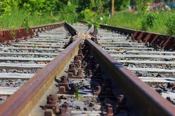 Obras de montaje de vía trenes Plasencia Cáceres junio 2019