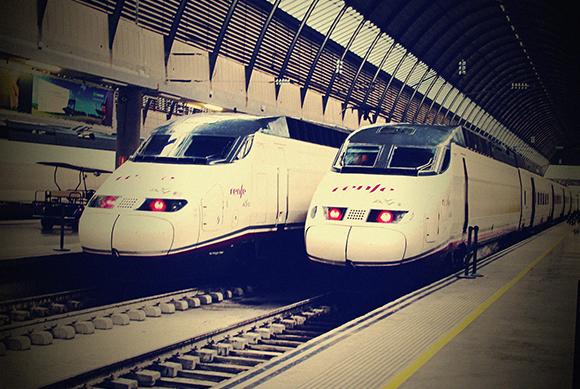 El uso de los trenes AVE aumentó un 4,9% en julio 2019