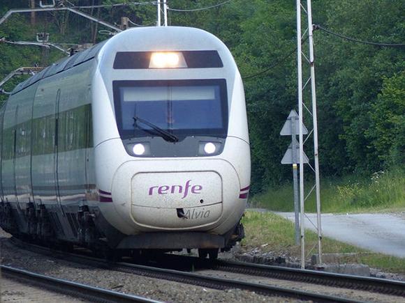 La base de mantenimiento para trenes de Extremadura 2019