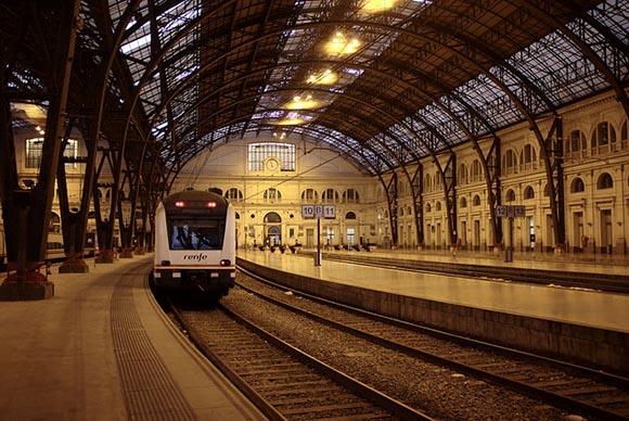 Avances en la estación de trenes Salou-Port Aventura 2019