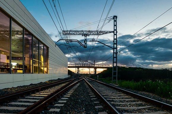 Obras en la estación de trenes AVE de Castellón 2019