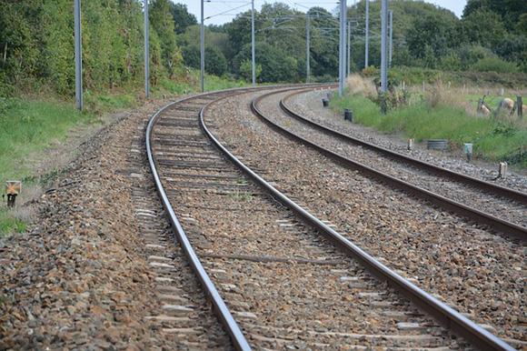 Renovación de vía en la línea de trenes Xàtiva Alcoy 2020