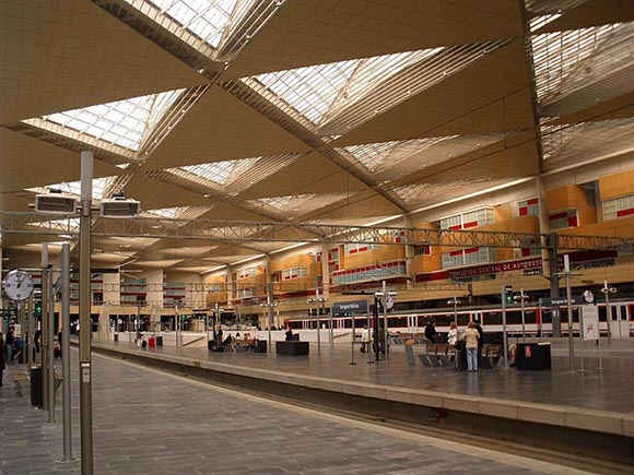 Los trenes AVE en la comunidad de Aragón hasta 2020