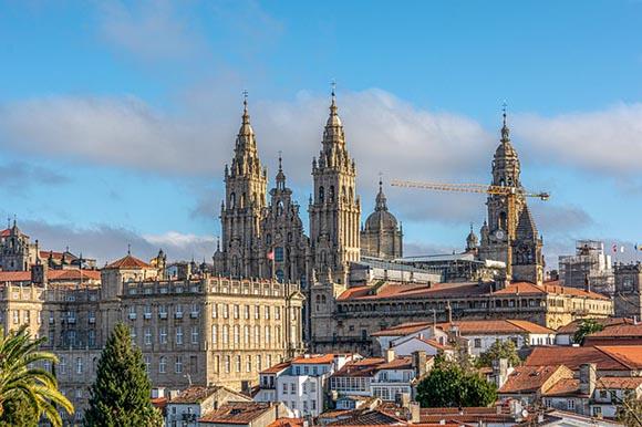 Trenes baratos a Santiago de Compostela en marzo 2020