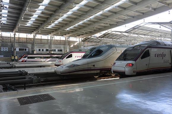Obras de reforma en la línea AVE Madrid Sevilla 2020